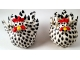 Chicken Salt and Pepper Shakers Black and White