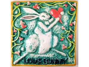 Lovebunny Ceramic Tile