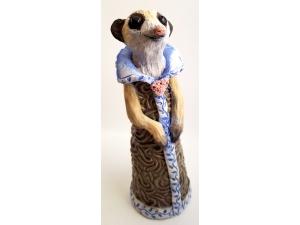 Meerkat Happy Sculpture