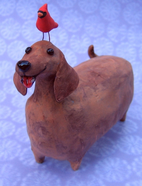 dachshound_red_bird.jpg