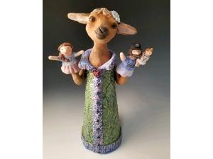 Baby Goat Puppet