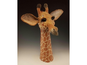 Large Giraffe Head